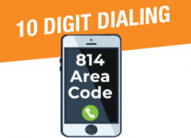 10 digit dialing requirement
